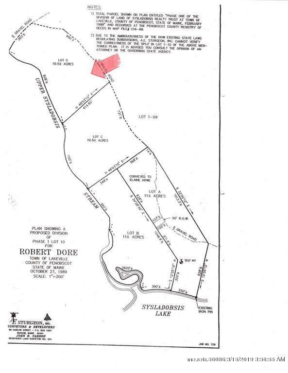 Salmon Rd Lot D Lakeville Me 04487