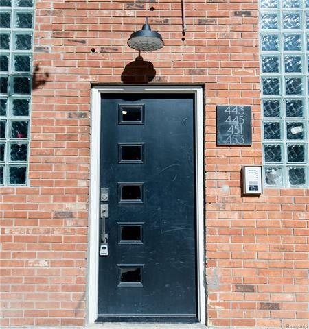Photo of 445 E Milwaukee St Unit 2, Detroit, MI 48202