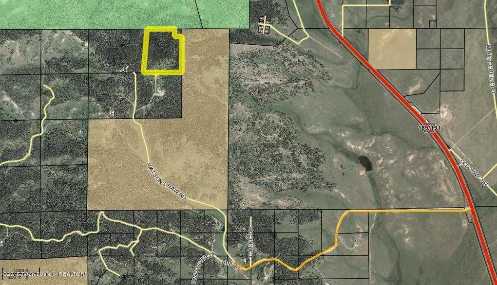 Bondurant Wyoming Map.Watson Draw Rd Lot 1 Bondurant Wy 82922 Realtor Com
