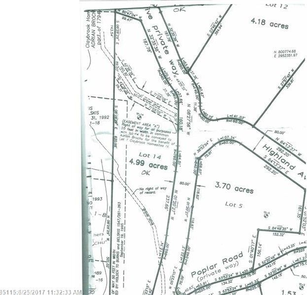 Kingfield Maine Map.14 Hillside Dr Kingfield Me 04947 Land For Sale And Real Estate