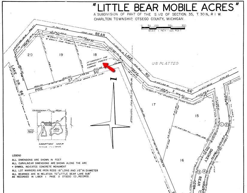 5767 Bear Lake Dr Lot 18, Johannesburg, MI 49751