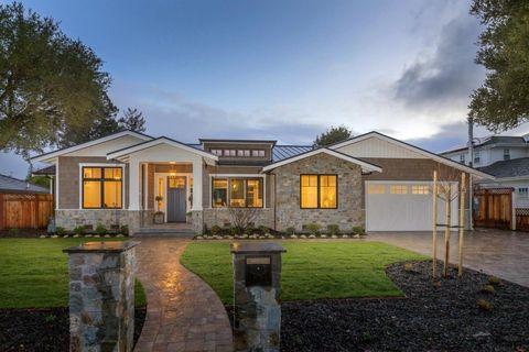 Oak Knoll Atherton Ca New Homes For Realtor