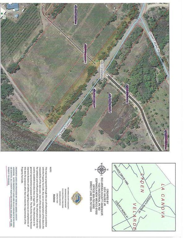 County Road 57/Sr 592 Velarde, NM 87582