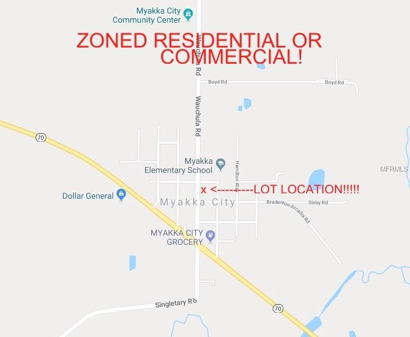 Myakka City Florida Map.10519 Wauchula Rd Myakka City Fl 34251 Recently Sold Land Sold