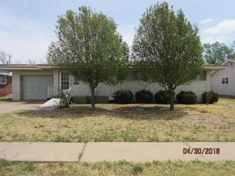 2314 N Mary-ellen St, Pampa, TX 79065