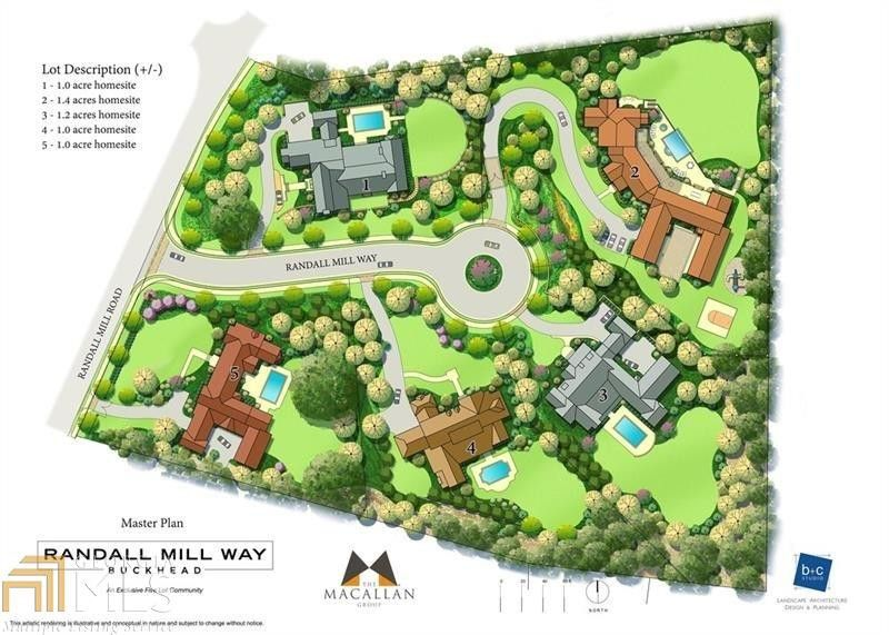 1744 Randall Mill Way Nw, Atlanta, GA 30327