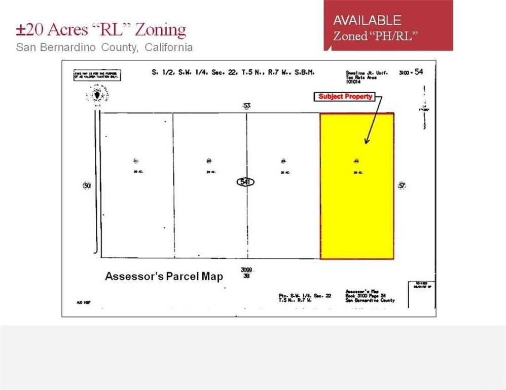 20 Ac, CA 92371 San Bernardino Zoning Map on rancho cucamonga map, canyon crest map, downtown l.a. map, moreno valley map, banning map, desert cities map, south coast metro map, fontana map, sacramento map, mission gorge map, bernardino county map, ventura county map, santa clara map, riverside map, palm springs map, downieville map, mt. san antonio map, sonoma co map, brigham city map, imperial valley map,