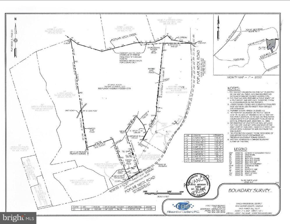 62 D Poplar Neck Road Poplar Neck Rd, King George, VA 22485 King George Va Road Map on king george va history, king george va community, king george va hotels,
