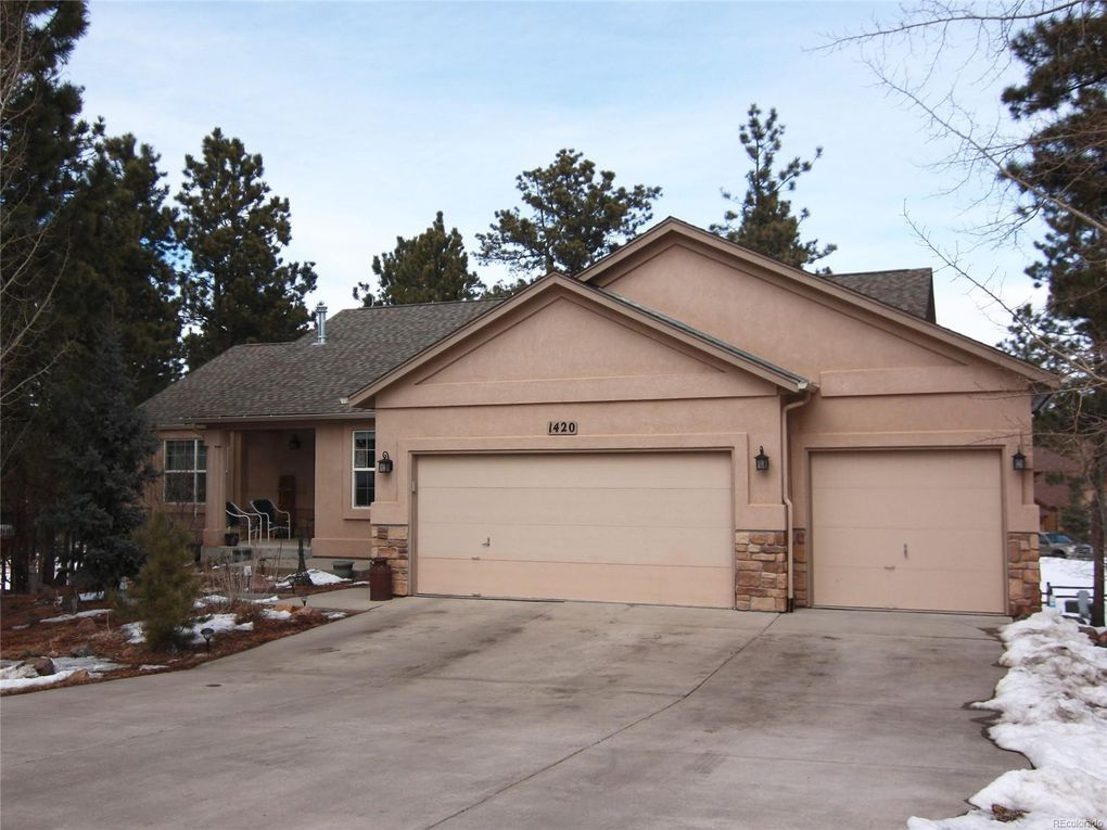 1420 Evergreen Heights Dr Woodland Park, CO 80863