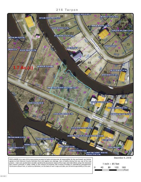 216 Tarpon Dr, Bay Saint Louis, MS 39520