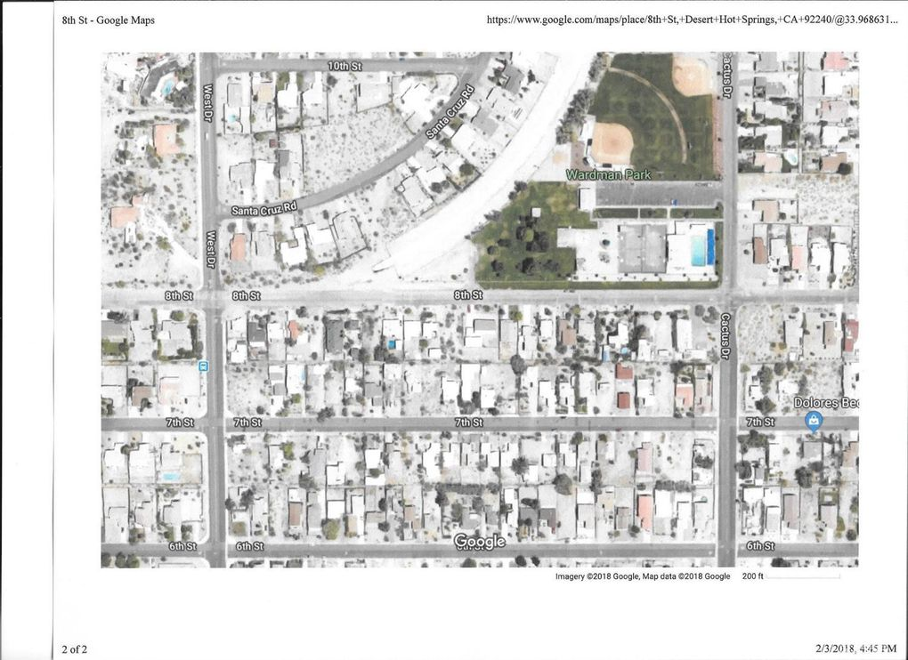 8th St Desert Hot Springs Ca 92240 Land For Sale And Real Estate