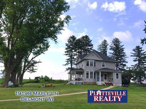 19198 Maple Ln, Belmont, WI 53510