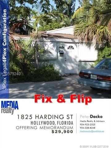Hollywood Fl News >> 1825 Harding St Hollywood Fl 33020 Realtor Com