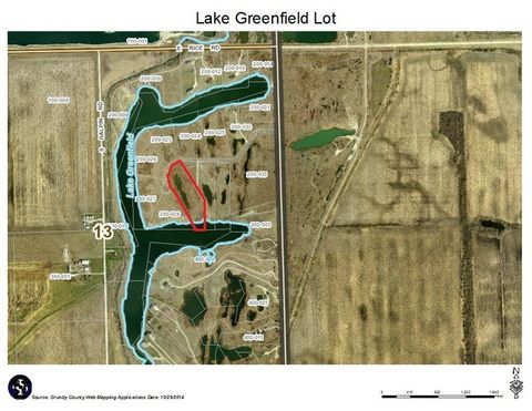 Lake Greenfield Ln Lot 2, South Wilmington, IL 60474