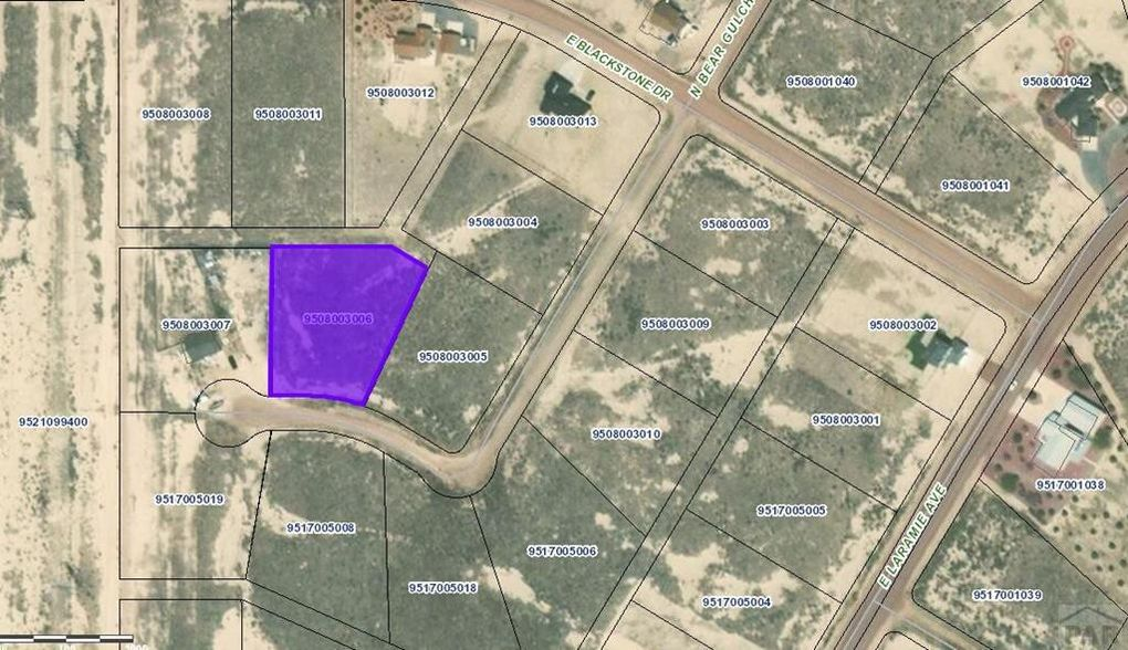 1711 N Bear Gulch Ln Pueblo West Co 81007 Land For Sale And Real