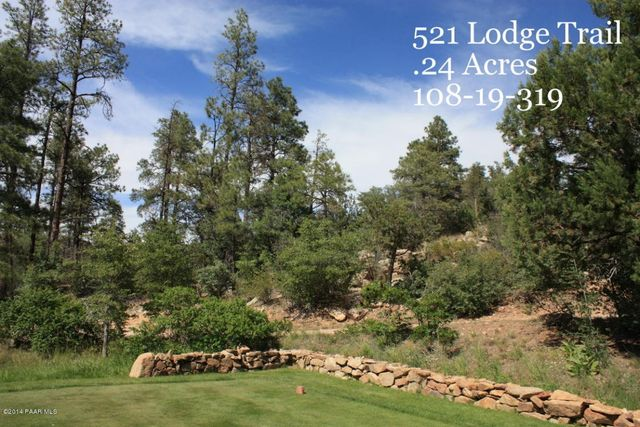 521 Lodge Trail Cir Lot 16 Prescott Az 86303 Land For