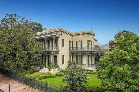 Garden District, New Orleans, LA Real Estate & Homes for Sale ...