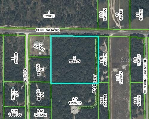 View Map Centralia Rd 48 Weeki Wachee Fl 34614 Land For Sale
