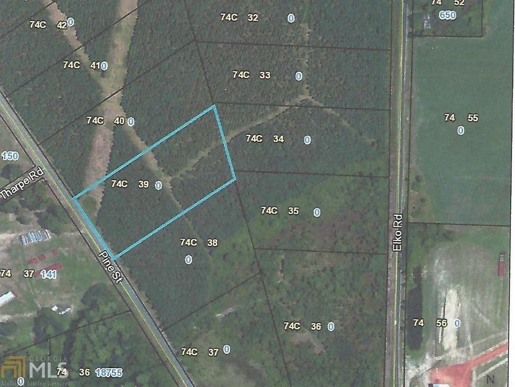 Map Of Highway 41 In Georgia.Highway 41 Unadilla Ga 31091 Realtor Com
