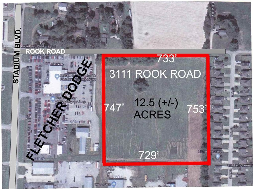 Fletcher Dodge Jonesboro Ar >> 3111 Rook Rd Jonesboro Ar 72404 Realtor Com