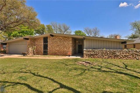 Photo of 759 Rosewood Dr, Abilene, TX 79603