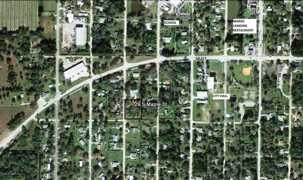 29 s maple st fellsmere fl 32948 land for sale and
