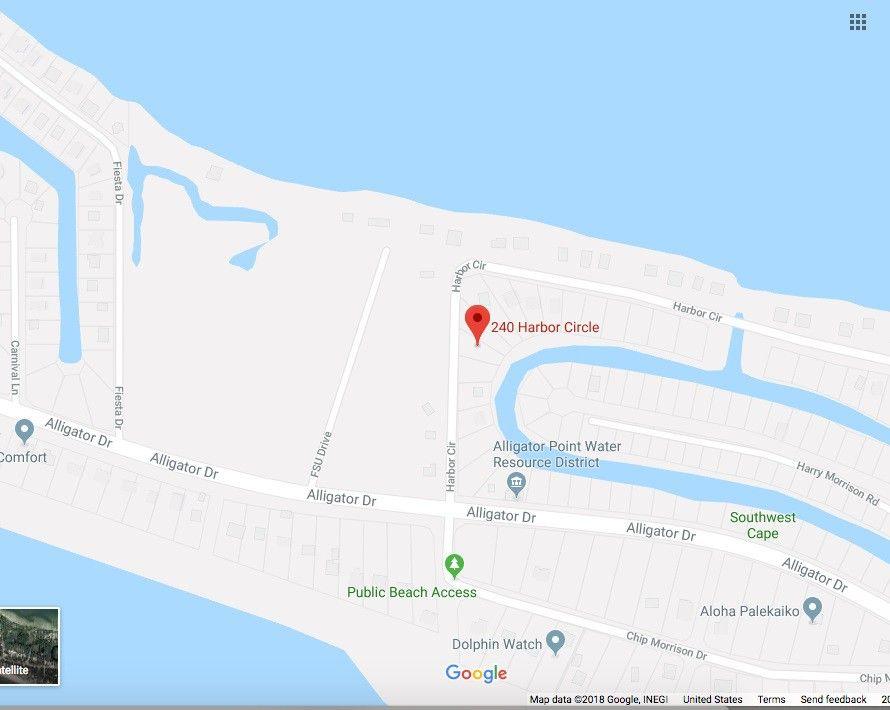 Alligator Point Florida Map.240 Harbor Cir Unit 3 Alligator Point Fl 32346 Land For Sale And