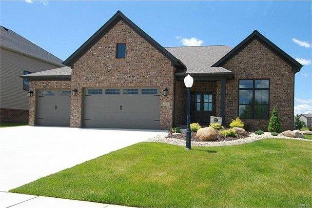 3321 drysdale ct edwardsville il 62025 home for sale