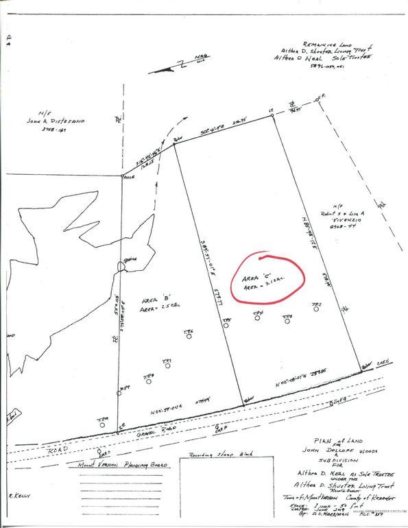 Ithiel Gordon Rd Mount Vernon, ME 04352