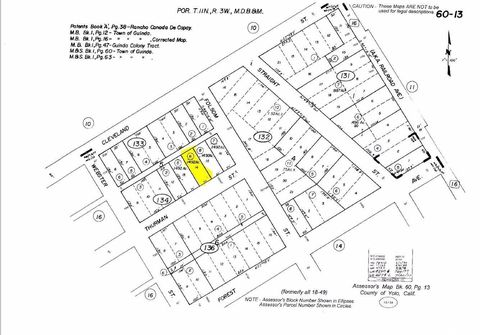 Thurman St Lot 14, Guinda, CA 95637