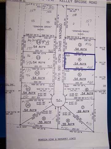 Donovan Grove Rd Lot 4, Bishopville, SC 29010