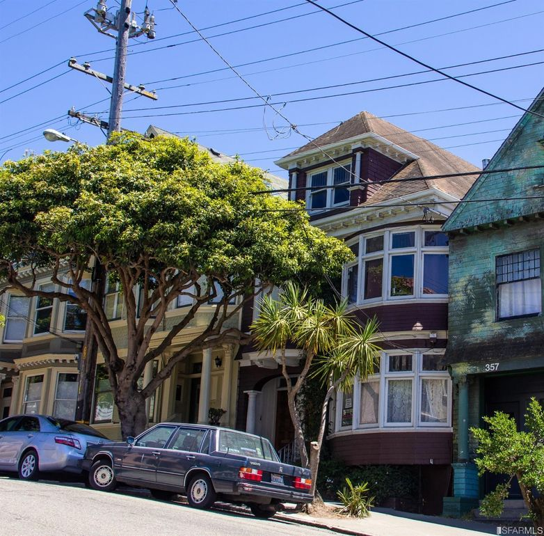 San Francisco Apartments For Rent By Owner: 353-355 Frederick St, San Francisco, CA 94117
