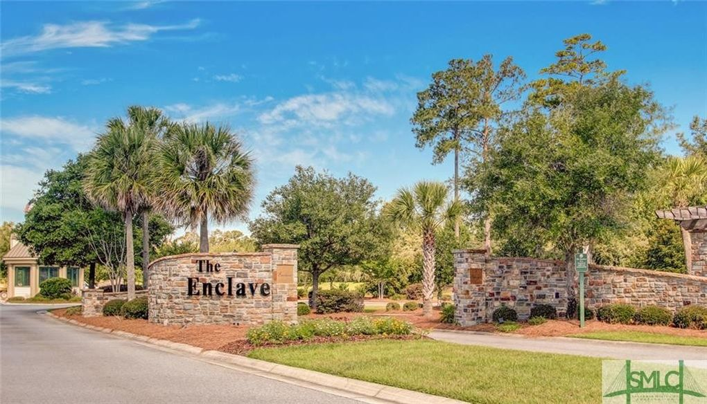 The Enclave Savannah Ga Homes For Sale