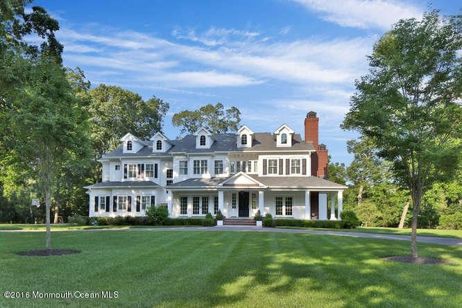 7 evergreen dr rumson nj 07760 for Build on your lot new jersey