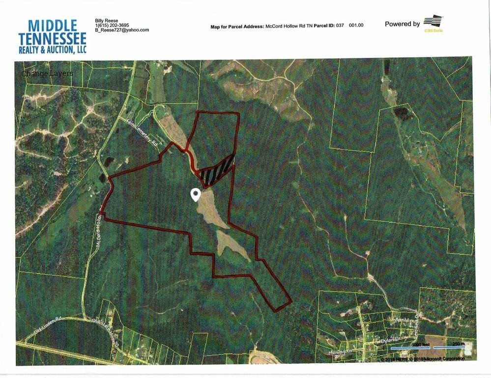 Hohenwald Tennessee Map.Mc Cord Hollow Rd Hohenwald Tn 38462 Realtor Com