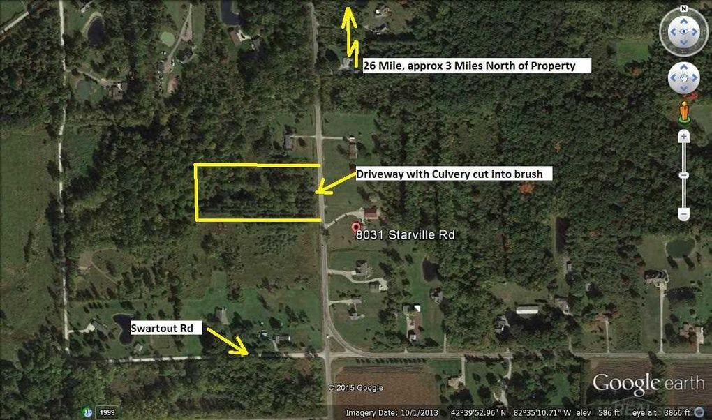 8024 Starville Rd, Clay Township, MI 48001
