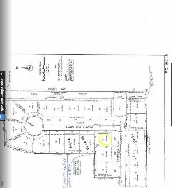 Blk 2 N Trails End Ct Unit Drovers 1st Add Xing Lot 14 Mount Hope, KS 67108