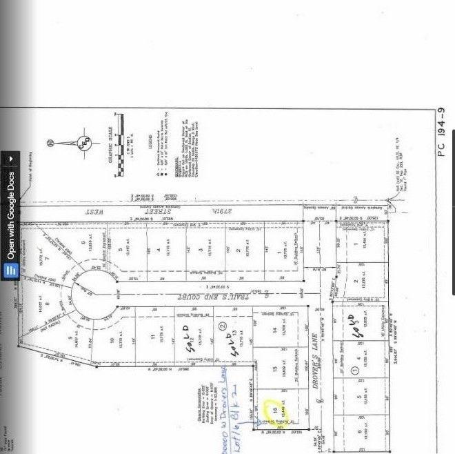 Blk 2 W Drovers Ln Unit Drovers 1st Add Xing Lot 16 Mount Hope, KS 67108