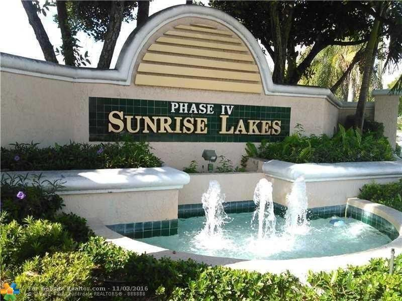 10207 Sunrise Lakes Blvd Apt 307 Sunrise Fl 33322