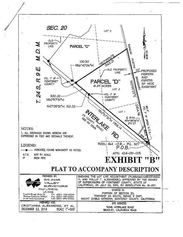 76345 D Interlake Rd, Bradley, CA 93426