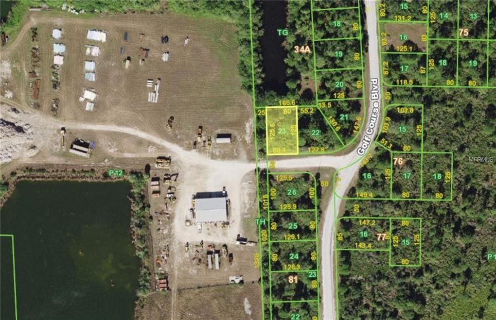 6469 Golf Course Blvd Punta Gorda FL Land For Sale and