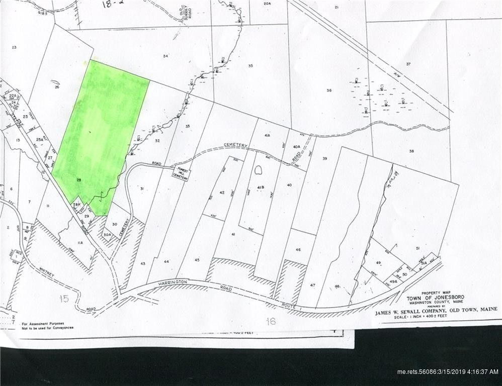 Station Rd Lot 28 Jonesboro Me 04648 Land For Sale And Real