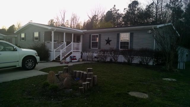 an unaddressed hebron md 21830 home property record