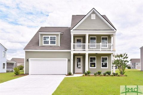 Savannah GA Homes With Special Features