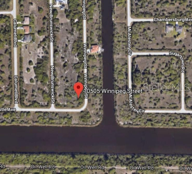 Street Map Port Charlotte Florida.10505 Winnipeg St Port Charlotte Fl 33981 Land For Sale And Real