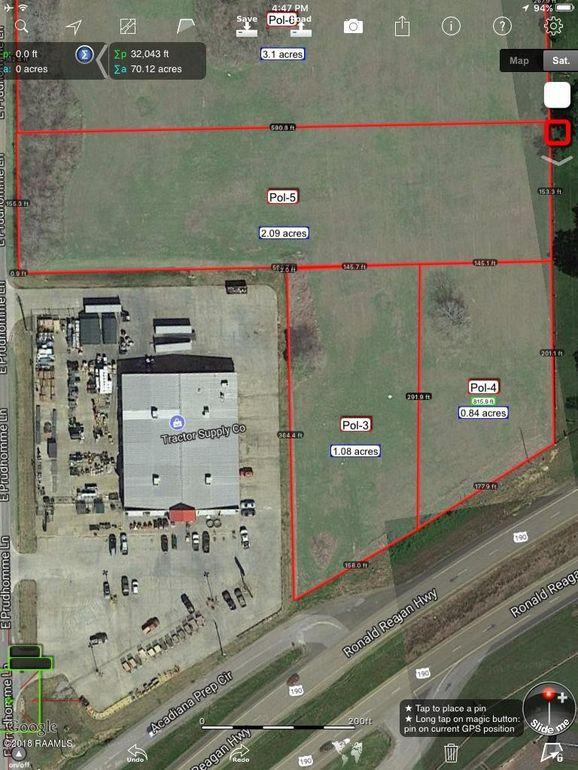 Opelousas Louisiana Map.14715 Highway 190 E Opelousas La 70570 Land For Sale And Real