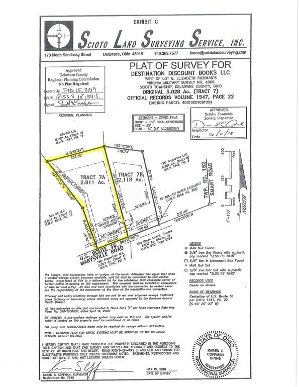 Marysville 7 A Rd Unit Tract, Ostrander, OH 43061