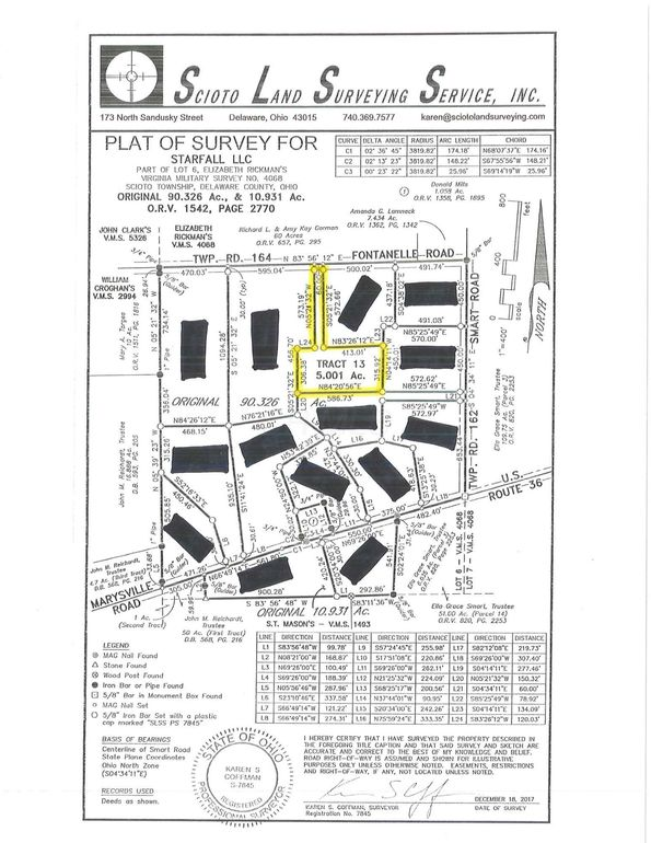 Fontanelle Rd Unit Tract , 13, Ostrander, OH 43061