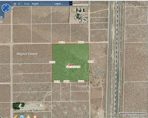 Address Not Available, Mojave, CA