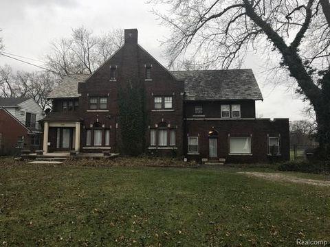 17181 Pontchartrain Blvd, Detroit, MI 48203